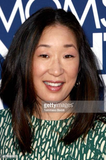 Actress Sandra Oh attends the 'Mom's Night Out' Los Angeles premiere held at the TCL Chinese Theatre IMAX on April 29 2014 in Hollywood California