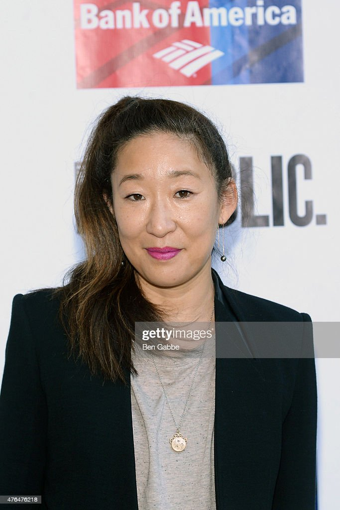 Actress Sandra Oh attends The Public Theater's Annual Gala at Delacorte Theater on June 9, 2015 in New York City.