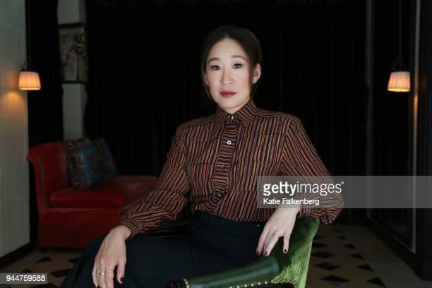 Actress Sandra Oh is photographed for Los Angeles Times on March 30 2018 in Los Angeles California PUBLISHED IMAGE CREDIT MUST READ Katie...