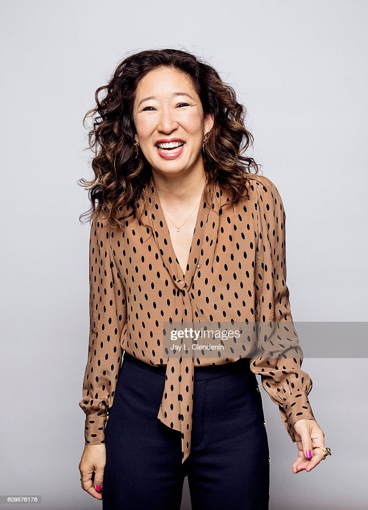 Actress Sandra Oh of Catfight' poses for a portraits at the Toronto International Film Festival for Los Angeles Times on September 9, 2016 in Toronto, Ontario.