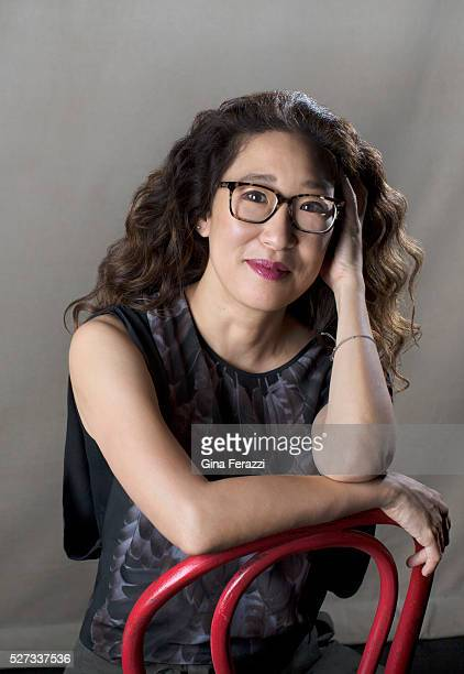 Actress Sandra Oh of 'Office Hour' is photographed for Los Angeles Times on April 7 2016 in Los Angeles California PUBLISHED IMAGE CREDIT MUST READ...