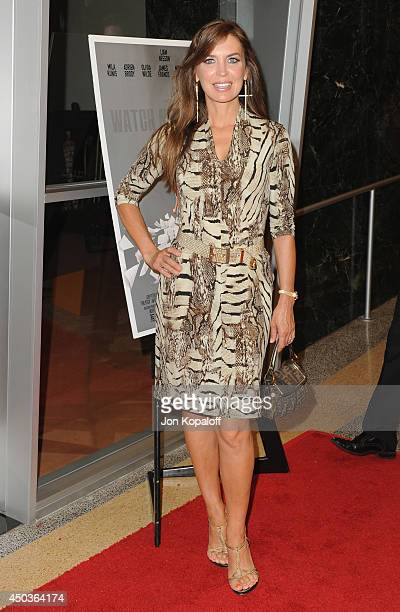 Actress Sandra Vidal arrives at the Los Angeles Premiere 'Third Person' at Linwood Dunn Theater at the Pickford Center for Motion Study on June 9...