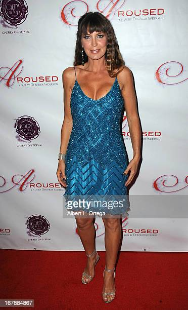 Actress Sandra Vidal arrives for the Premiere Of 'Aroused' held at Landmark Nuart Theatre on May 1 2013 in Los Angeles California