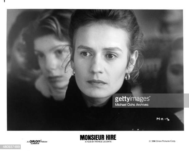 Actress Sandrine Bonnaire in a scene from the movie 'Monsieur Hire' circa 1989