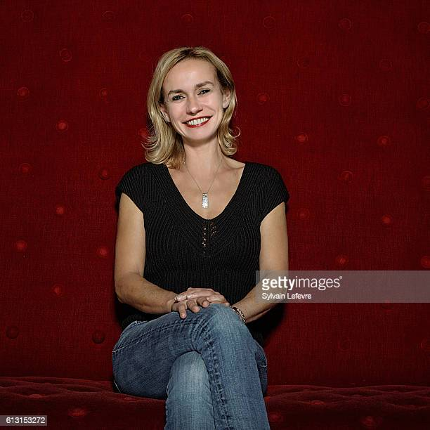 Actress Sandrine Bonnaire is photographed for Self Assignment on October 3 2016 in Namur Belgium