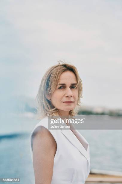 Actress Sandrine Bonnaire is photographed for Self Assignment on May 18 2017 in Cannes France