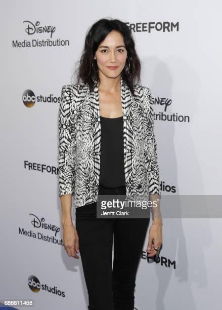 Actress Sandrine Holt attends the 2017 ABC/Disney Media Distribution International Upfront at Walt Disney Studio Lot on May 21 2017 in Burbank...