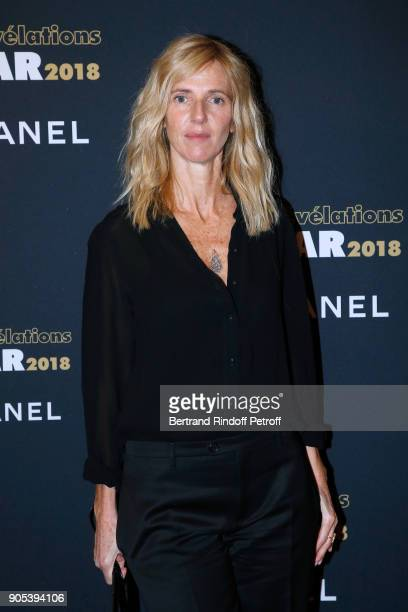Actress Sandrine Kiberlain attends the 'Cesar Revelations 2018' Party at Le Petit Palais on January 15 2018 in Paris France