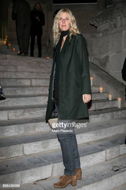 Actress Sandrine Kiberlain attends Vogue Party as part of the Paris Fashion Week Womenswear Spring/Summer 2018 at on October 1 2017 in Paris France