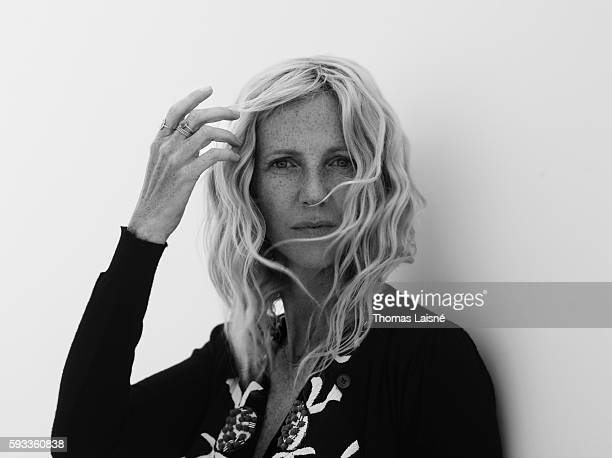 Actress Sandrine Kiberlain is photographed for Self Assignment on May 17 2013 in Cannes France