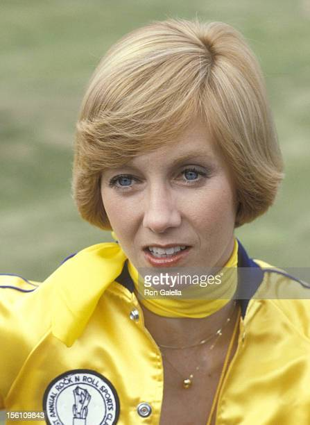 Actress Sandy Duncan attends the First Annual Rock 'N Roll Sports Classic on March 10 1978 at University of CaliforniaIrvine in Irvine California