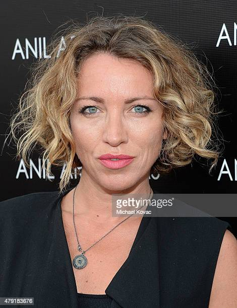 Actress Sanny Van Heteren attends the Anil Arjandas Jewels US Flagship Store Opening on July 1 2015 in West Hollywood California