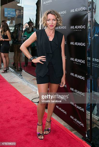 Actress Sanny van Heteren attends the grand opening of Anil Arjandas Jewels Los Angeles Boutique on July 1 2015 in West Hollywood California