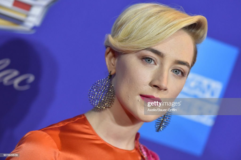 Actress Saoirse Ronan attends the 29th Annual Palm Springs International Film Festival Awards Gala at Palm Springs Convention Center on January 2, 2018 in Palm Springs, California.