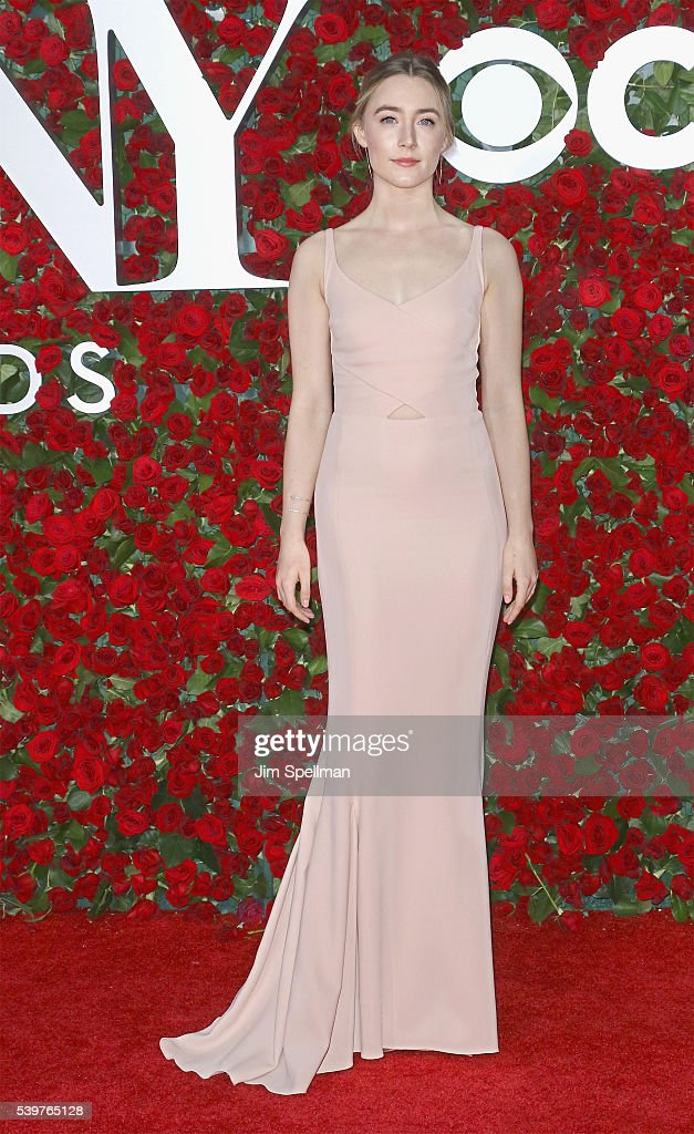Actress Saoirse Ronan attends the 70th Annual Tony Awards at Beacon Theatre on June 12, 2016 in New York City.