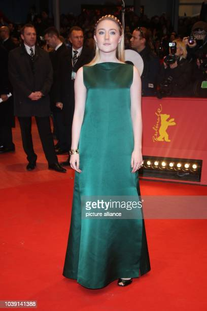 Actress Saoirse Ronan attends the world premiere of 'The Grand Budapest Hotel' during the 64th International Berlin Film Festival aka Berlinale at...
