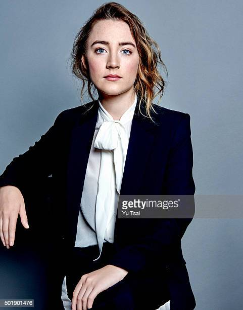 Actress Saoirse Ronan is photographed at the Toronto Film Festival for Variety on September 12 2015 in Toronto Ontario Published Image