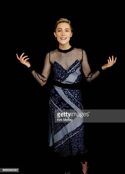 Actress Saoirse Ronan is photographed for Los Angeles Times on November 11 2017 in Los Angeles California PUBLISHED IMAGE CREDIT MUST READ Kirk...