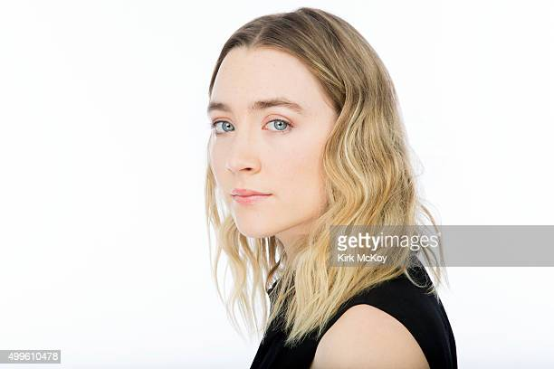 Actress Saoirse Ronan is photographed for Los Angeles Times on November 13 2015 in Los Angeles California PUBLISHED IMAGE CREDIT MUST READ Kirk...