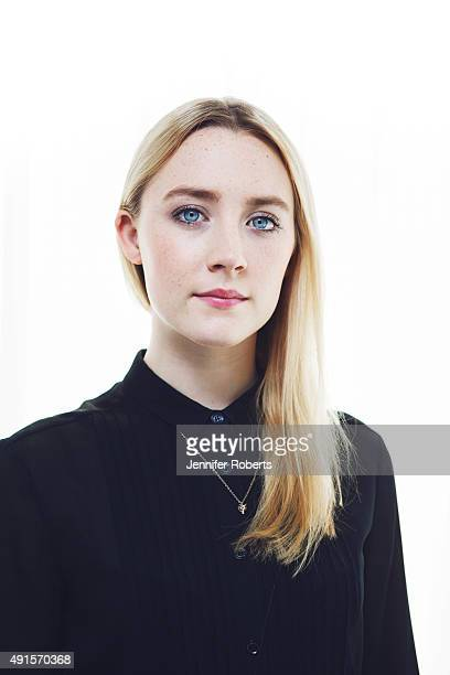 Actress Saoirse Ronan is photographed for The Globe and Mail on September 6 2014 in Toronto Ontario