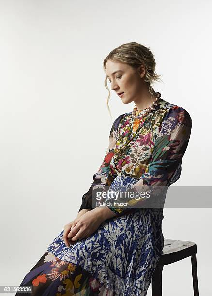 Actress Saoirse Ronan poses for a portrait at the 27th Annual Palm Springs International Film Festival for The Wrap on January 2 2016 in Palm Springs...
