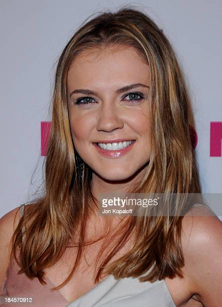 Actress Sara Canning arrives at NYLON Magazine's May Issue Young Hollywood Launch Party at The Roosevelt Hotel on May 12 2010 in Hollywood California
