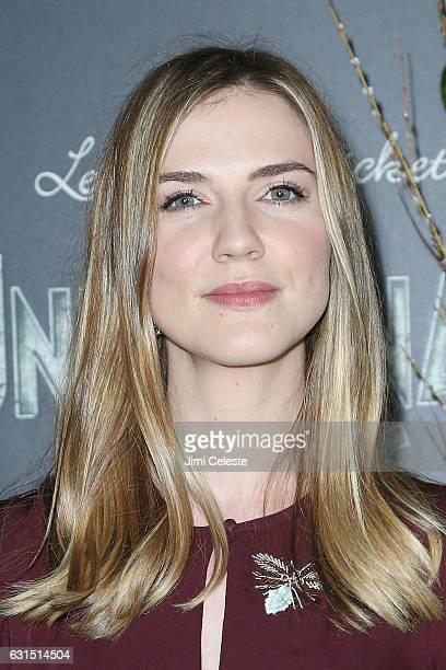 Actress Sara Canning attends NETFLIX Presents the World Premiere of Lemony Snicket's 'A Series of Unfortunate Events' at AMC Lincoln Square Theater...