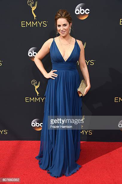 Actress Sara Chase attends the 68th Annual Primetime Emmy Awards at Microsoft Theater on September 18 2016 in Los Angeles California