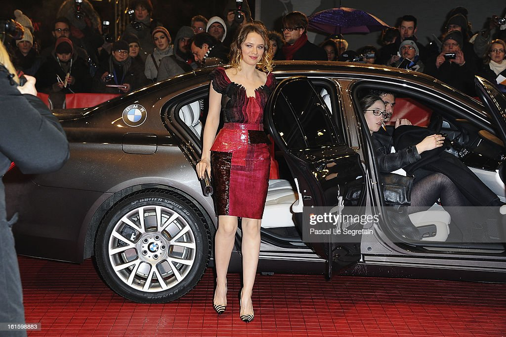 Actress Sara Forestier attends the 'Camille Claudel 1915' Premiere during the 63rd Berlinale International Film Festival at Berlinale Palast on February 12, 2013 in Berlin, Germany.
