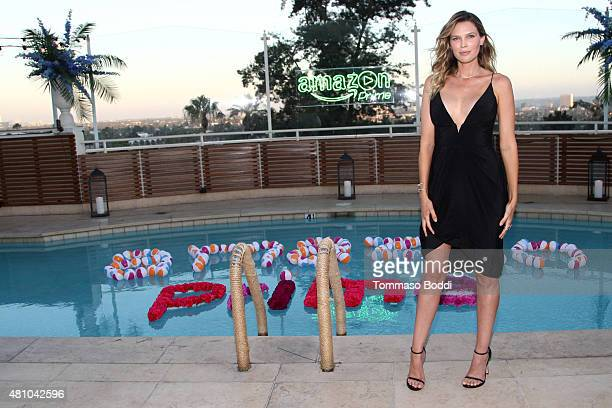 Actress Sara Foster attends the Amazon Prime Summer Soiree hosted By Erin and Sara Foster held at Sunset Towers on July 16 2015 in West Hollywood...