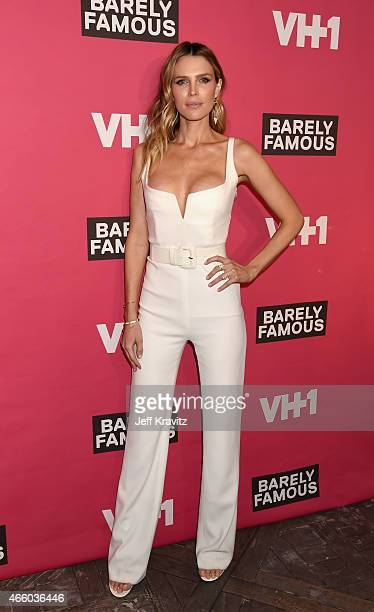 """Actress Sara Foster attends VH1's """"Barely Famous"""" premiere screening and party at The London Hotel on March 12, 2015 in West Hollywood, California."""