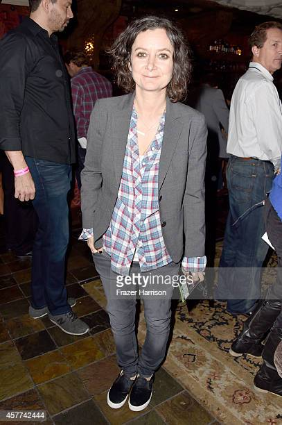 Actress Sara Gilbert attends Power of Pink 2014 Benefiting the Cancer Prevention Program at Saint John's Health Center at House of Blues Sunset Strip...
