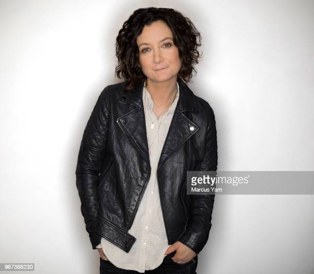 Actress Sara Gilbert is photographed for Los Angeles Times on May 7 2018 in Los Angeles California PUBLISHED IMAGE CREDIT MUST READ Marcus Yam/Los...