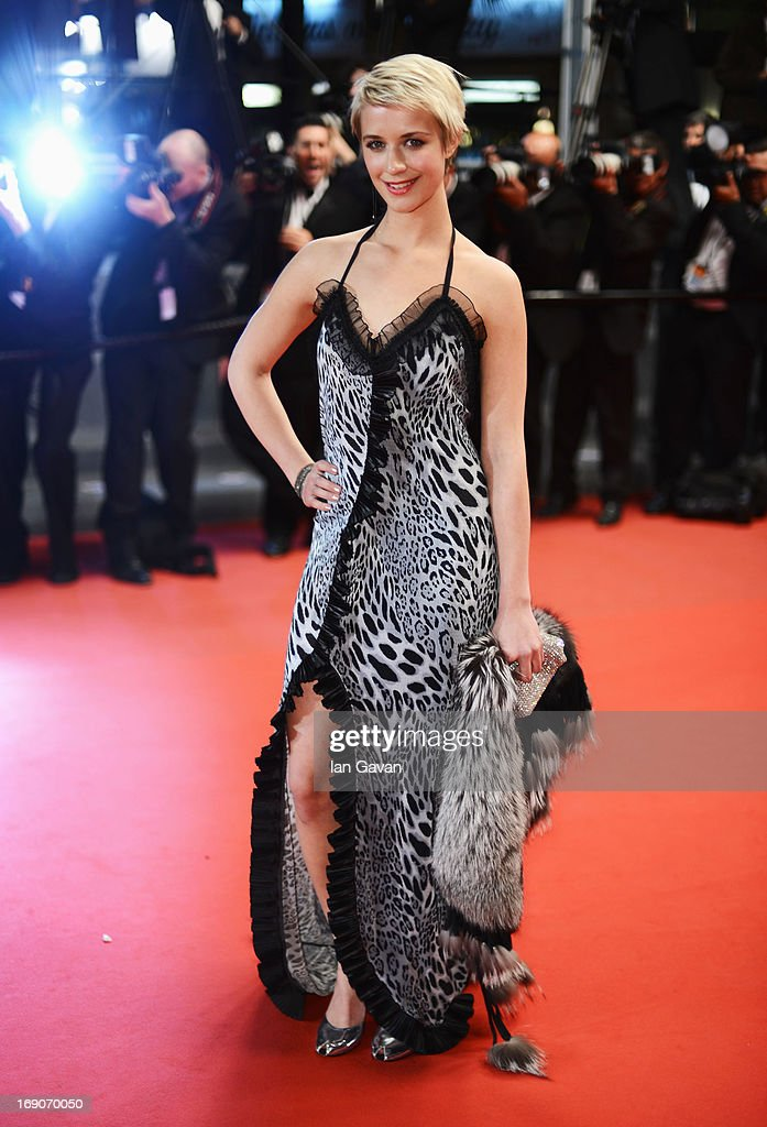 Actress Sara Hjort Ditlevsen attends the 'Borgman' Premiere during the 66th Annual Cannes Film Festival at the Palais des Festivals on May 19, 2013 in Cannes, France.