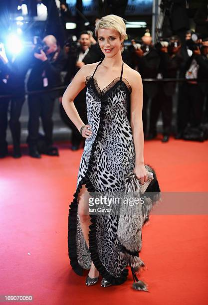 Actress Sara Hjort Ditlevsen attends the 'Borgman' Premiere during the 66th Annual Cannes Film Festival at the Palais des Festivals on May 19, 2013...