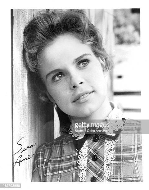 Actress Sara Lane poses for a portrait in circa 1966