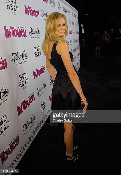 Actress Sara Paxton arrives at In Touch Weekly's ICONS IDOLS CELEBRATION with performances by Good Charlotte Leona Lewis and The Veronicas and music...