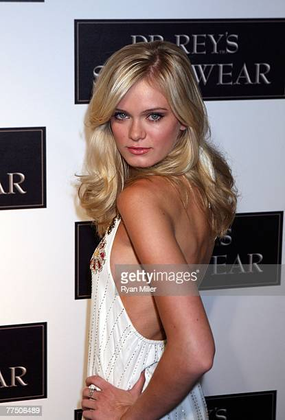 Actress Sara Paxton arrives at the launch party for Dr Robert Rey's Shapewear hosted by Carmen Electra and Denise Richards held at Hollywood hot spot...