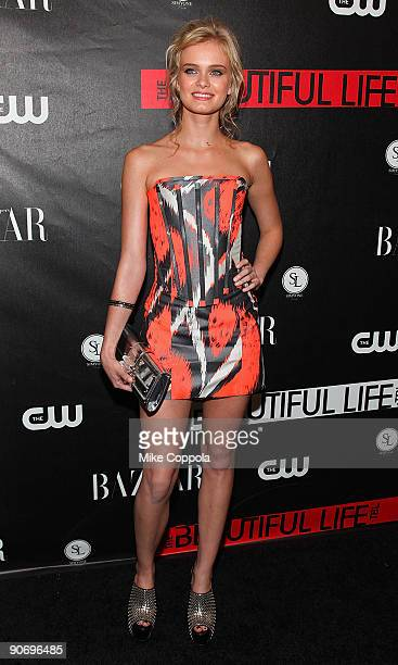 Actress Sara Paxton attends The CW's The Beautiful Life TBL series premiere at Simyone Lounge on September 12 2009 in New York City