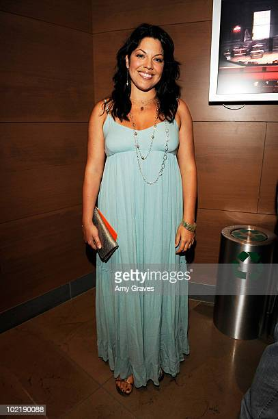 Actress Sara Ramirez attends 'Daddy Long Legs' at The Broad Stage on June 17 2010 in Santa Monica California