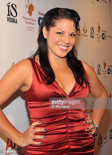 Actress Sara Ramirez attends the National Kidney Foundation Gift of Life Dinner at the Beverly Hills Hotel on May 3 2009 in Beverly Hills California