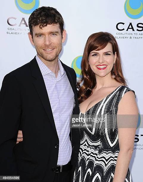 Actress Sara Rue and husband Kevin Price attend the 16th From Slavery to Freedom gala at Skirball Cultural Center on May 29, 2014 in Los Angeles,...