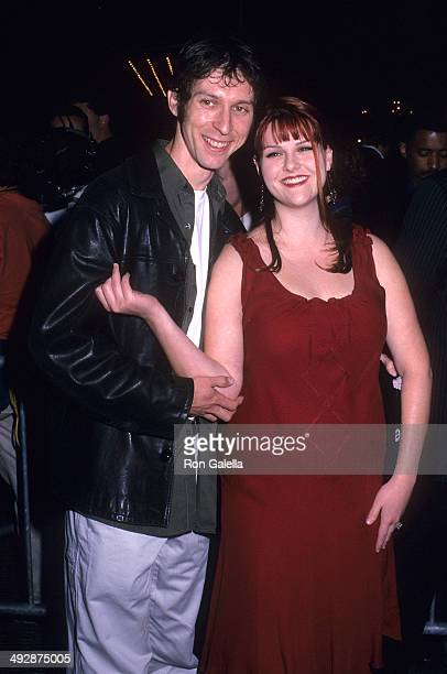 Actress Sara Rue and husband Mischa Livingstone attend the Red Dragon New York City Premiere on September 30 2002 at the Ziegfeld Theatre in New York...