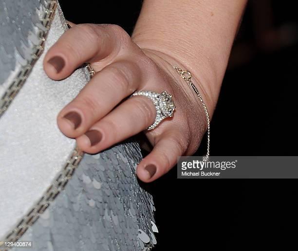 Actress Sara Rue arrives at Audi and Designer J Mendel's Kick Off Celebration of Golden Globe Week 2011 at Cecconi's Restaurant on January 9 2011 in...