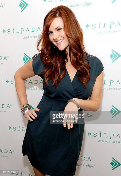 Actress Sara Rue attends Silpada at Kari Feinstein's Academy Awards Style Lounge at Montage Beverly Hills on February 25 2011 in Beverly Hills...