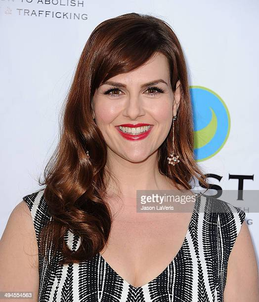 Actress Sara Rue attends the 16th From Slavery to Freedom gala at Skirball Cultural Center on May 29, 2014 in Los Angeles, California.
