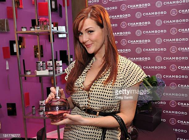 Actress Sara Rue attends the HBO Luxury Lounge in honor of the 68th Annual Golden Globe Awards at The Four Seasons Hotel on January 15 2011 in...