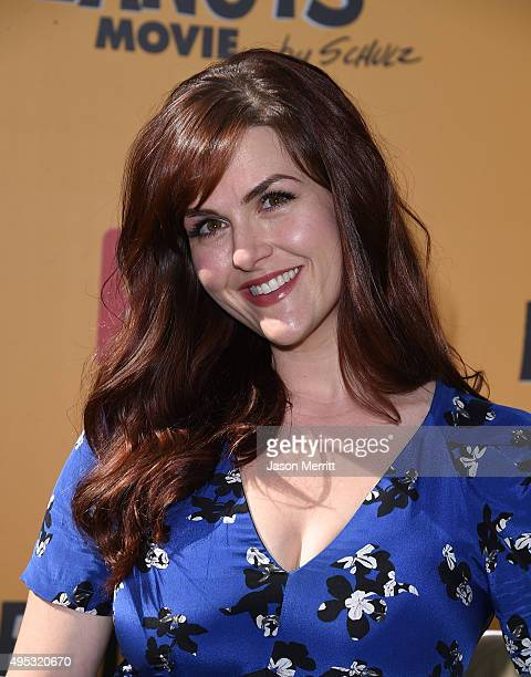 Actress Sara Rue attends the premiere of 20th Century Fox's 'The Peanuts Movie' at Regency Village Theatre on November 1 2015 in Westwood California