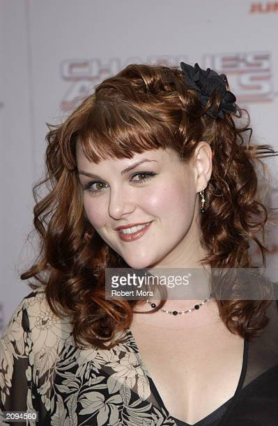 Actress Sara Rue attends the premiere of Columbia Pictures' film Charlie's Angels 2 Full Throttle at the Grauman's Chinese Theatre June 18 2003 in...