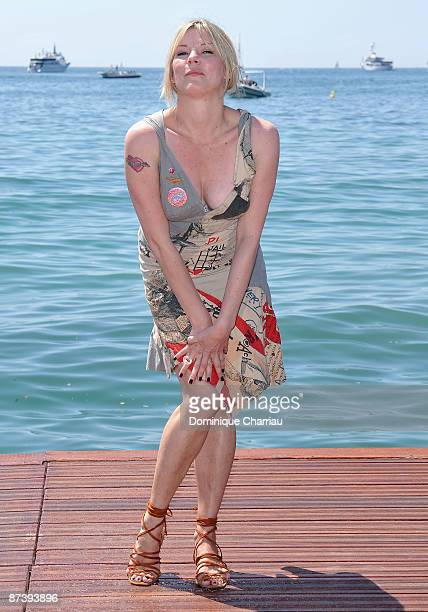 Actress Sara Stockbridge attends The Making of Plus One photo call at the Majestic Hotel during the 62nd Annual Cannes Film Festival on May 16 2009...